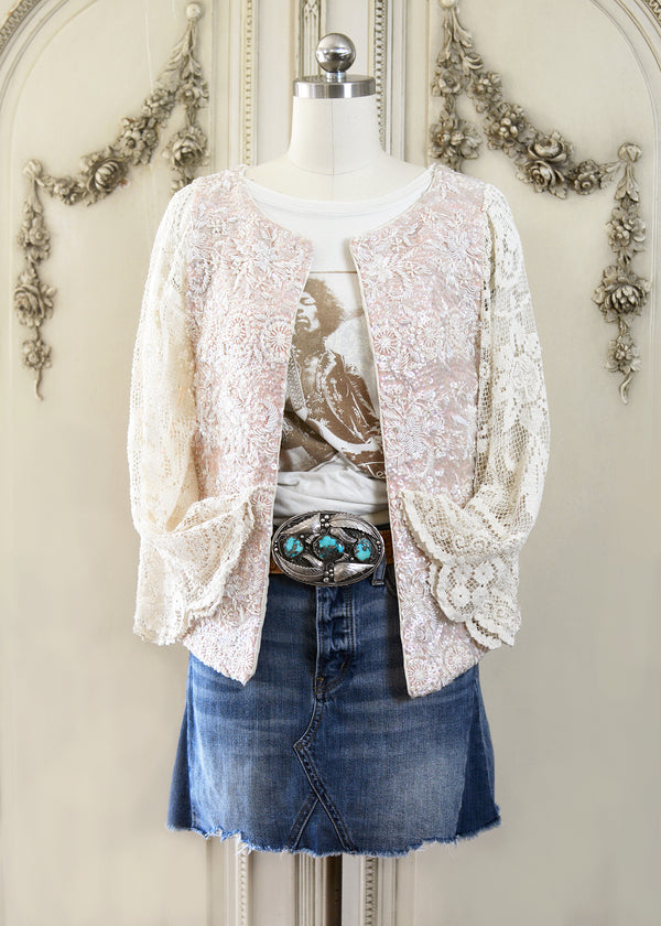 FLORENCE SEQUIN JACKET-105-5201