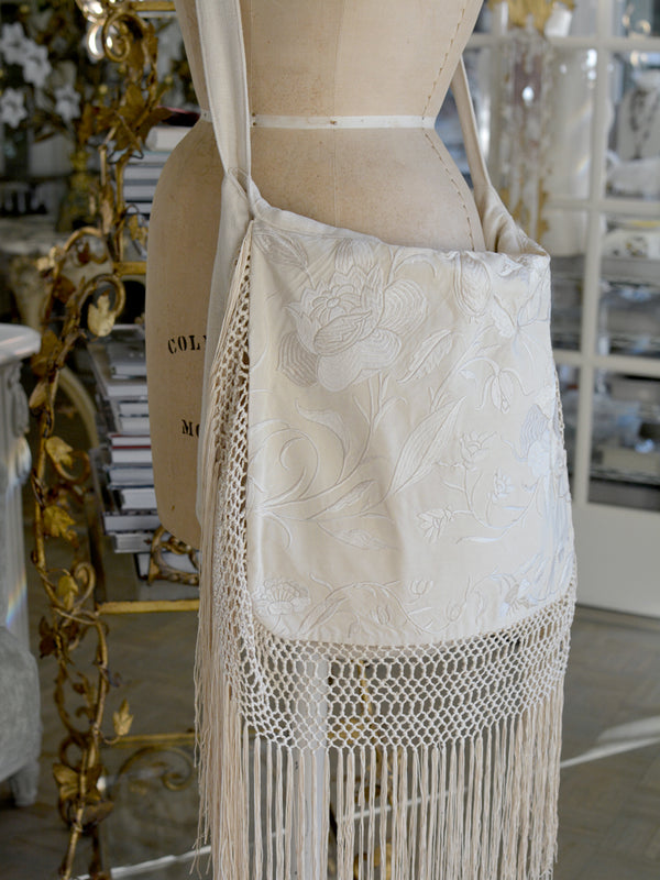 Ivory Messenger Bag