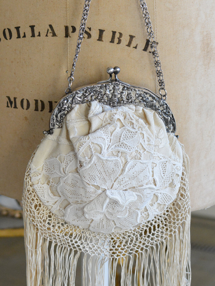 Cream Lace Chatelaine