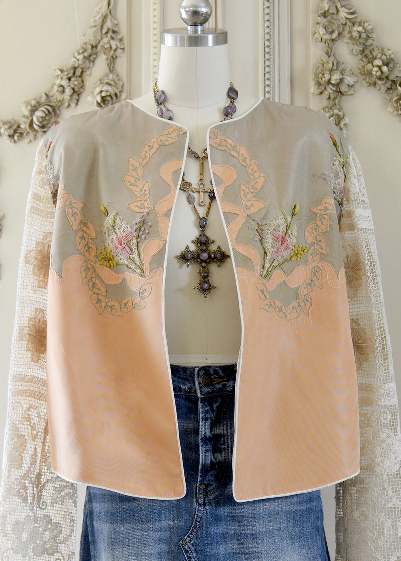 NATALIE EMBELLISHED JACKET-105-0561