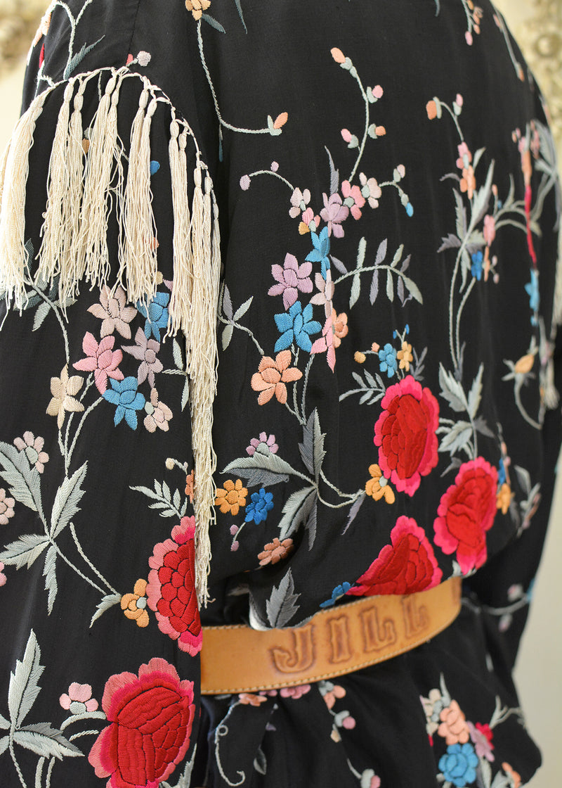 NELLY FRINGE JACKET-102-0563