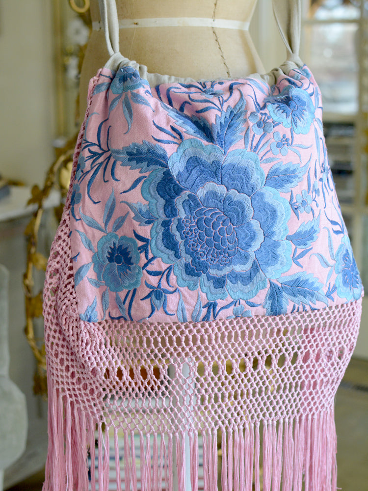 Pink & Blue Isabelle Shoulder Bag