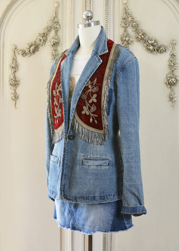 VICTORIA DENIM JACKET-104-529