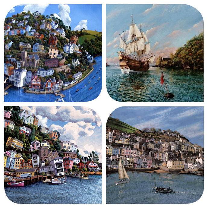 Assortment of Dartmouth scenes art cards
