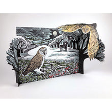 Load image into Gallery viewer, Angela Harding owl advent calendar