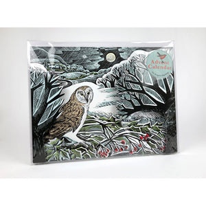 Angela Harding owl advent calendar