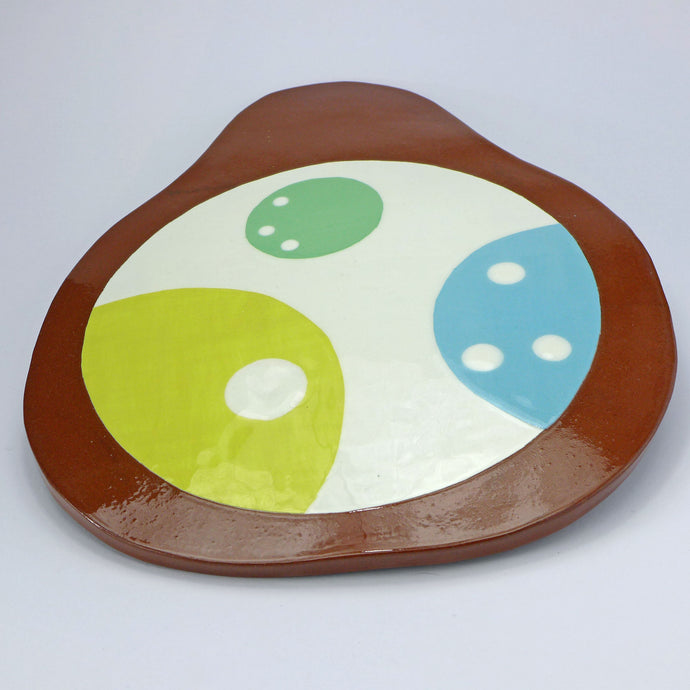 SALE Pear shape platter