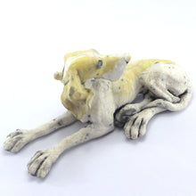 Load image into Gallery viewer, Ceramic looking back dog