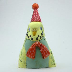 Party Polly budgie bust