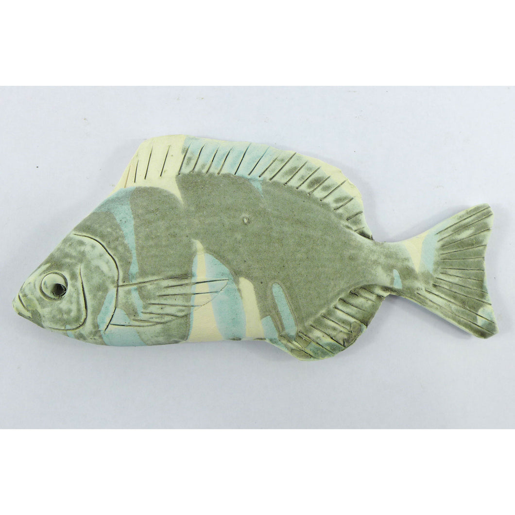 Ceramic wall hanging small bream