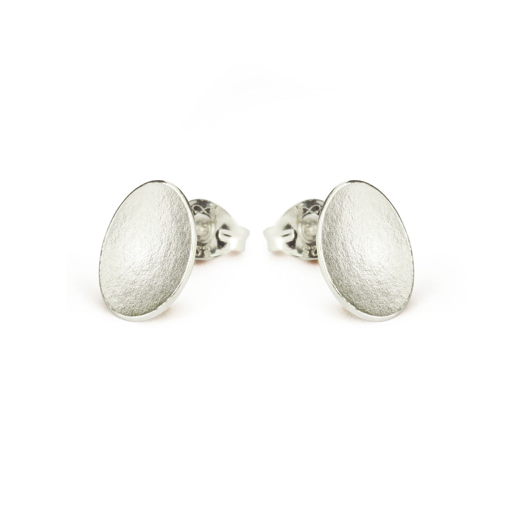 GCE35 Silver small seed stud earrings