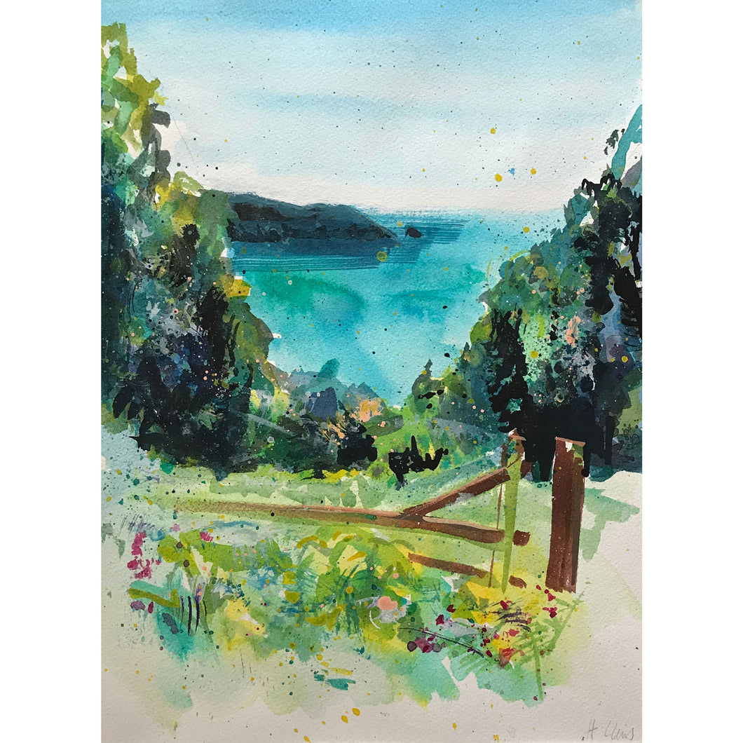 Dartmouth Estuary from Little Dartmouth Limited Edition