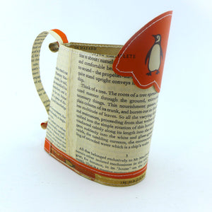 Penguin books hand stitched medium jug