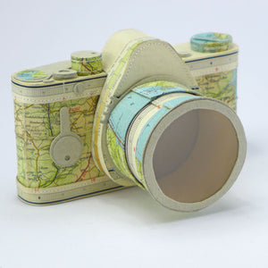 SLR camera using Dartmouth map