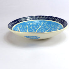 Load image into Gallery viewer, Ceramic tree bowl turquoise
