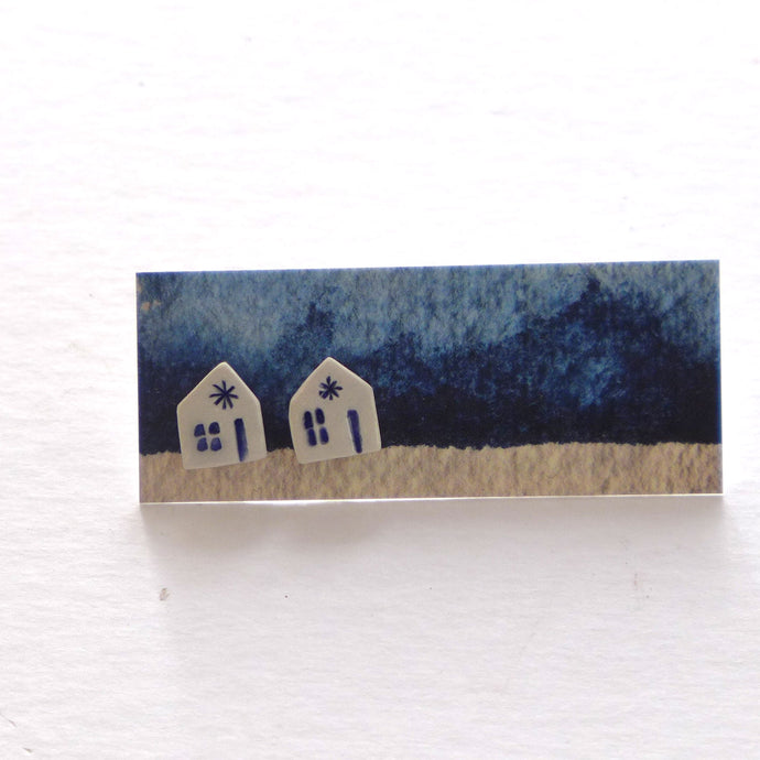 House stud earrings 2