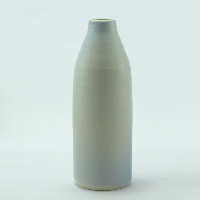 LB22 Dawn blue milkbottle vase