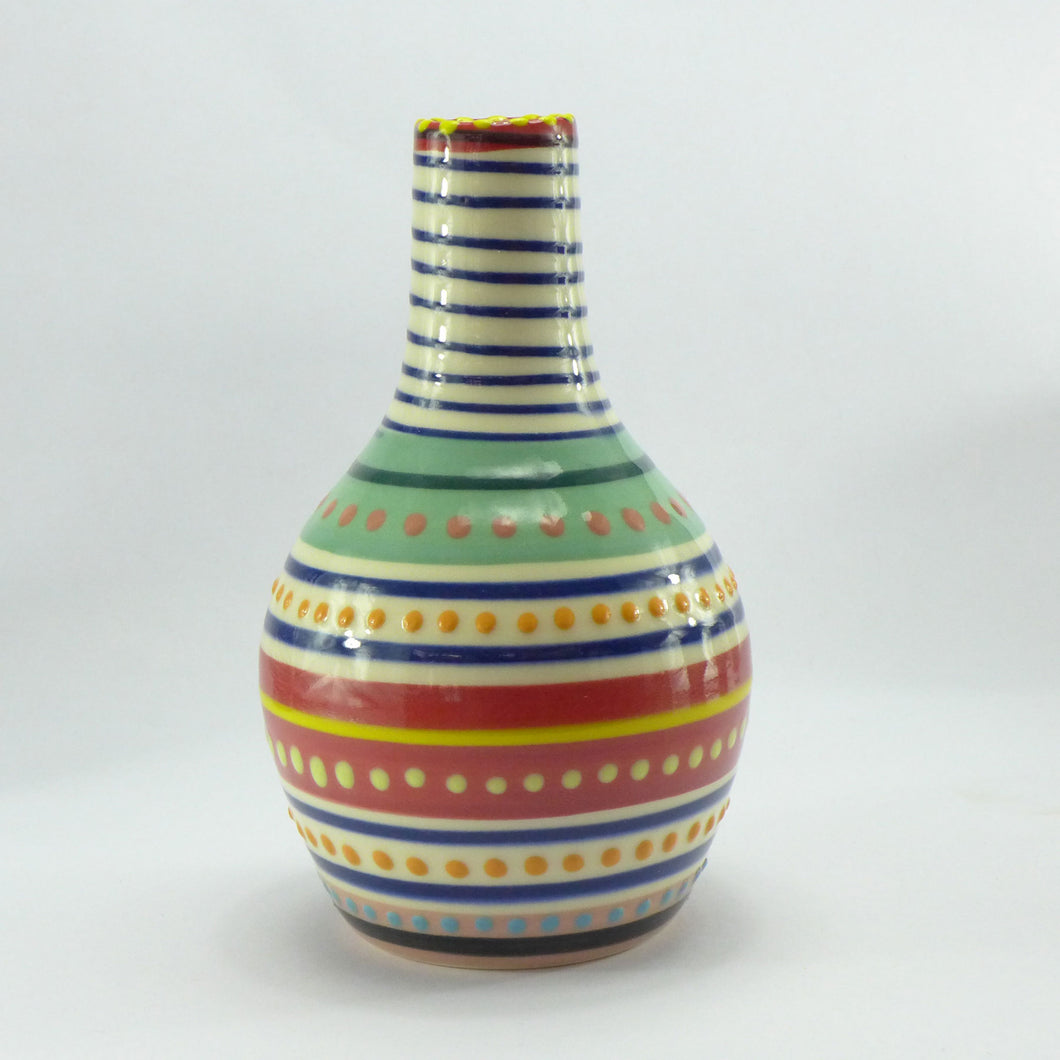 Spotty multi bottle vase