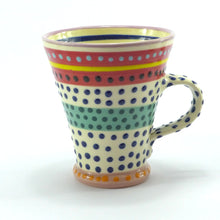 Load image into Gallery viewer, Multi spotty mug