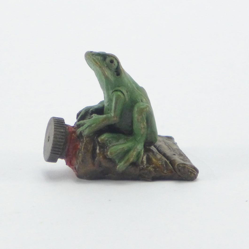 Frog on a paint tube