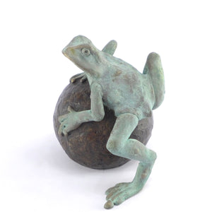 Medium frog on ball