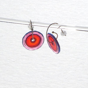 Jam Tart 04 Glass Earrings