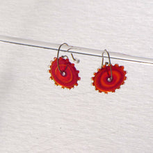 Load image into Gallery viewer, Whirligig 02 Glass Earrings