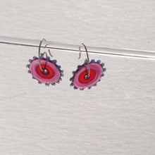 Load image into Gallery viewer, Whirligig 03 Glass Earrings