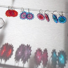 Load image into Gallery viewer, Whirligig 04 Glass Earrings