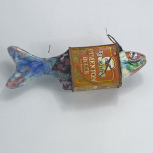 Pimento Tin Ceramic Fish