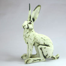 Load image into Gallery viewer, Dave oxide glazed sitting hare
