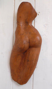 Sa female back wall sculpture