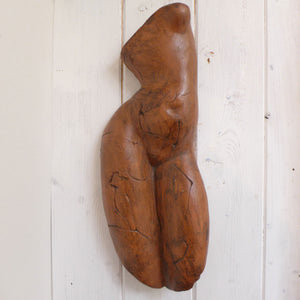 Sa female front wall sculpture