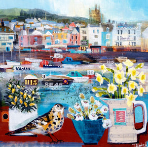 Dartmouth-in-Spring-Collage Print