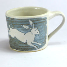 Load image into Gallery viewer, Ceramic espresso cup - hares