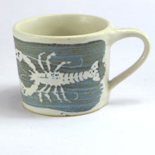 Load image into Gallery viewer, Ceramic espresso cup - lobster