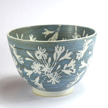 Load image into Gallery viewer, Ceramic medium bowl - agapanthus