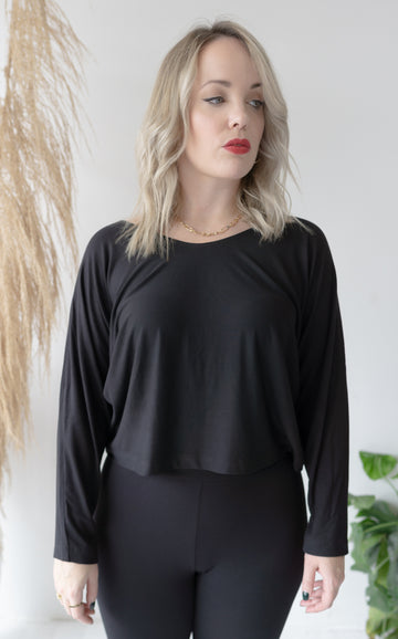 Long Sleeve Boxy Top