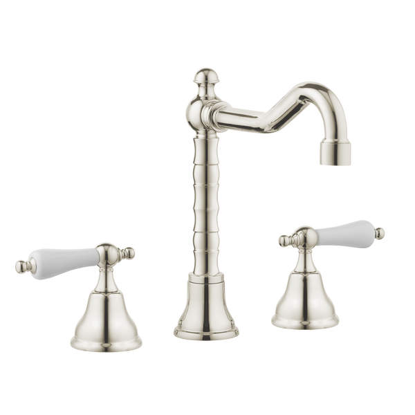 English Metal Lever Traditional Kitchen Tap - English Tap Spout - Metal Lever