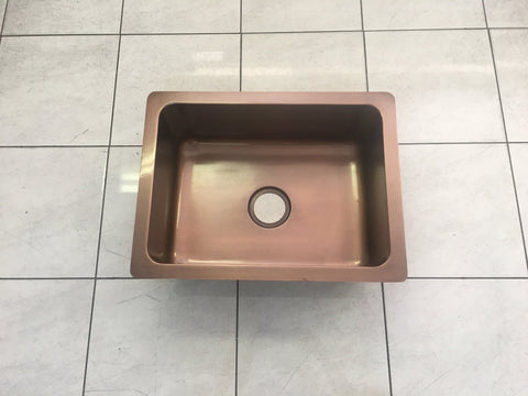 Copper Undermount Kitchen Sink - Large