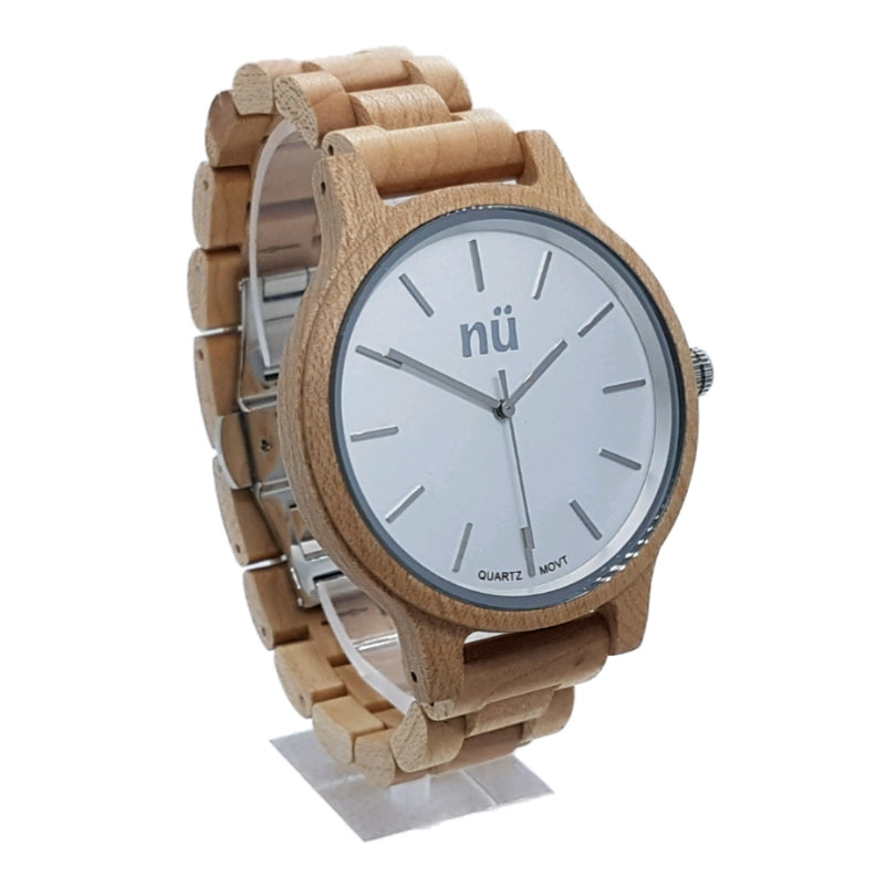 CARTER Maple Japanese Quartz Miyota 2015 Stylish Men Wood Watch - nuOriginals.com