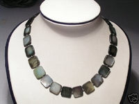 Beautiful Real Slate Shell Necklace