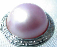 Brand New exquisite genuine 15mm pink mabe pearl set