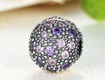 925 Sterling Silver Charm Adorable zues Bead Fits Pandora, Biagi, Troll, Chamilla and Many Other European Charm