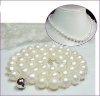 Excellence 7-7.5mm Genuine Saltwater Cultured Pearl Necklace