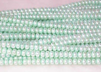 "wholesale 16"" 6-7mm viridescence pearl necklace strings"