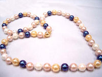 AAA multicolor seashell pearl Necklace Bracelet