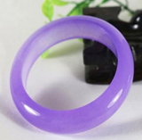 Lavender purple color jade bracelet