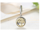Sterling 925 silver tree charm the life bead fits European charm bracelet
