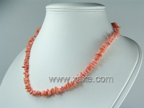 Lovely pink coral necklace